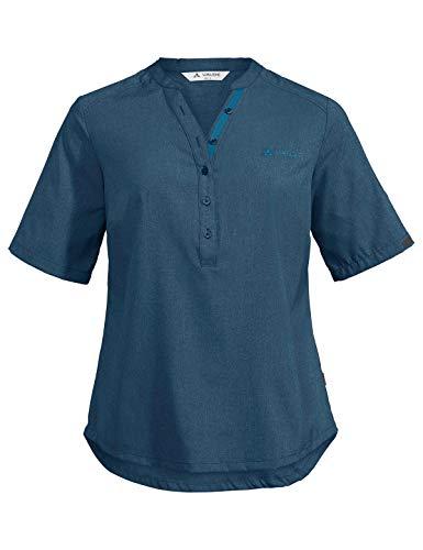 VAUDE Women's Turifo Shirt II Blouse Femme Baltic Sea FR: L (Taille Fabricant: 42)