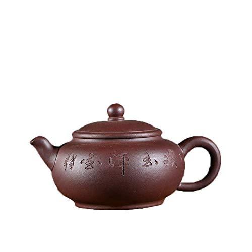 Tetera,Tetera de hierro fundido,Teapot Set Purple Clay teapots ore Jun Yu Hu Tetera hecha a mano kung fu Té Decoración del hogar Presente