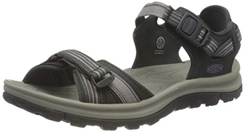 KEEN Women's Terradora 2 Open Toe Sport Sandal, Dark Grey/Dawn Pink, 9