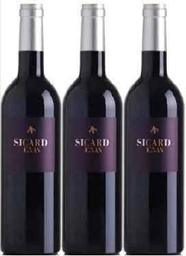 Minervois Sicarignan campo Sicard 2017 VDF en lote de 3 botellas.