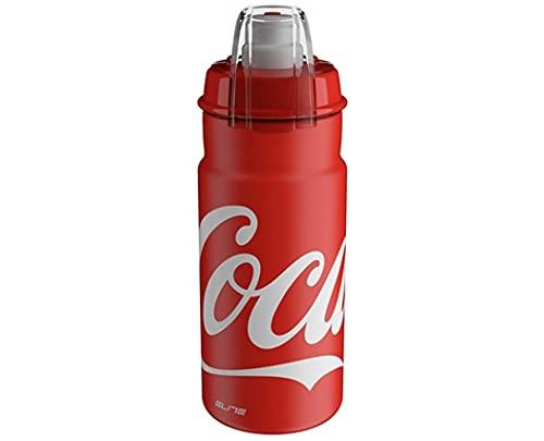 Elite Jet Plus Coca Cola, borraccia da 550 ml, colore: Rosso
