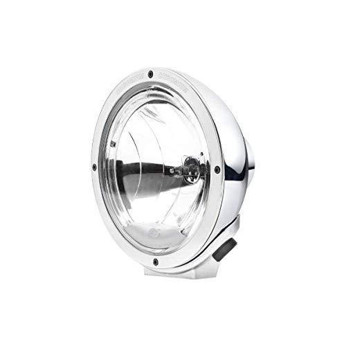 HELLA 1F8 007 560-211 Fernscheinwerfer - Luminator - H1 - 12V/24V - rund - Ref. 17,5 - glasklare Streuscheibe - transparent - Anbau - Einbauort: links/rechts