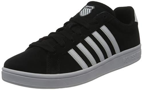 K-Swiss Herren Court TIEBREAK SDE Sneaker, Black/White, 47 EU