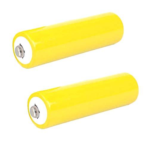 2 Pcs AA Battery Placeholder Cylinder Dummy Fake Battery