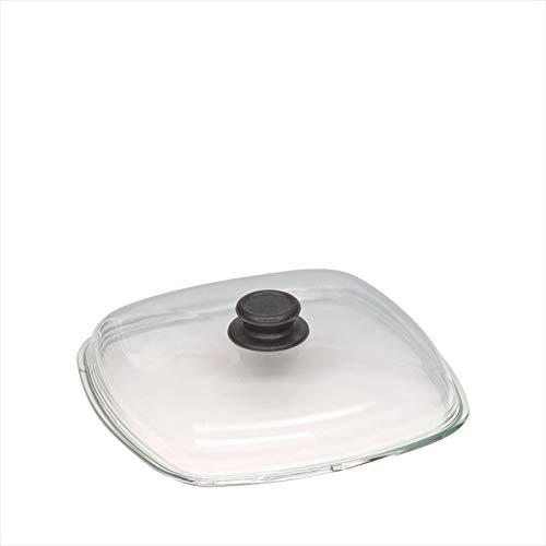 Diamètre : 28 cm couvercle en verre pour poêle anti-adhésif profond «silvretta»