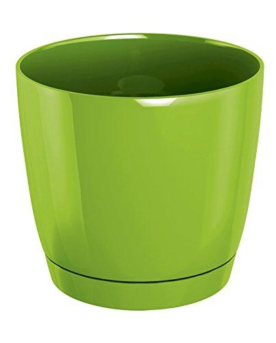 Zanvic Prosper Plast Duop180–389u Pot de Fleurs Coubi Vert Citron 18 x 16,5 cm
