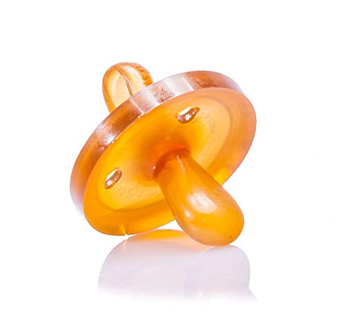 Goldi Beruhigungssauger ab 6 Monate , Naturform oval