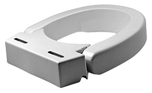 Maddak Hinged Elevated Toilet Seat, Standard (725711000)