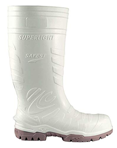 Cofra 00060-003.W44 Safest S5 Ci SRC - Zapatos de seguridad (talla 44), color blanco