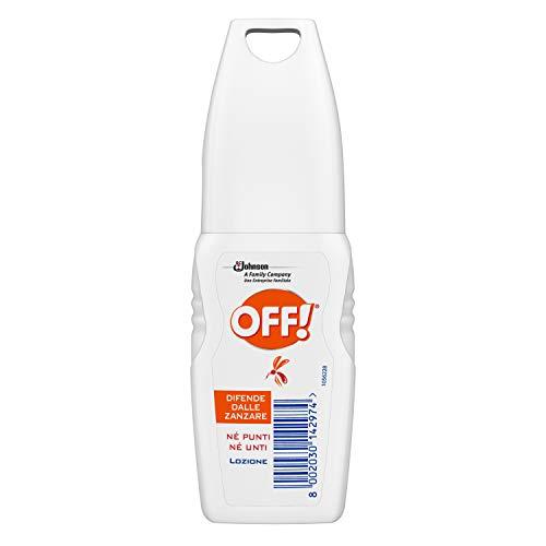 Off! Lotion Répulsif - 4 pièces da 100 ml [400 ml]