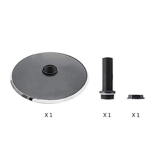 anruo 1 15,8 cm ronde dak regendouche massage stoomdouche douche sproeier badkamer 1/2 connector;douchekop woondecoratie