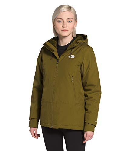 The North Face Women's Inlux Insulated Jacket, Fir Green Herringbone, S