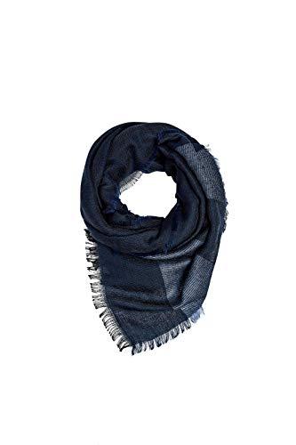 ESPRIT Accessoires Herren 099Ea2Q007 Schal, Blau (Navy 400), One Size (Herstellergröße: 1SIZE)