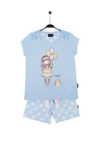 SANTORO LONDON - Pijama Gorjuss Santoro niña cumpleaños Niñas Color: Azul Talla: 14