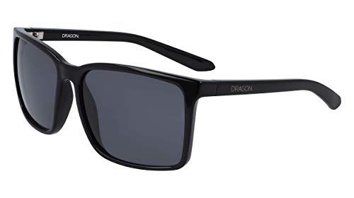Dragon Dr Montage Gafas de Sol, Negro Brillante, Taille Unique para Hombre