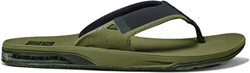 Reef Fanning Low Olive, Chanclas para Hombre