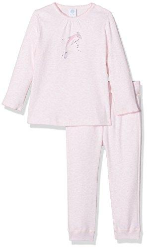 Sanetta Sanetta Baby-Mädchen 221389 Zweiteiliger Schlafanzug, Rosa (Magnolie Mel. 3992), 74