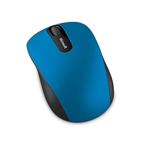 Microsoft - Bluetooth Mobile Mouse 3600 - Souris Bluetooth pour PC, ordinateurs portables compatible Windows, Mac, Chrome OS - Noir (PN7-00004)