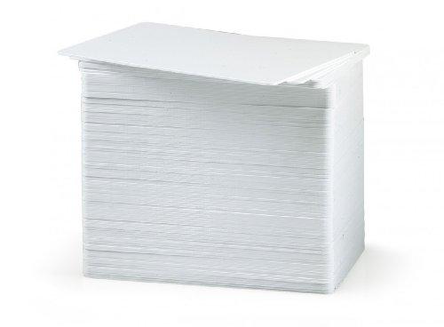 Zebra Premier PVC Card, 30 mil (5 packs x 100) 500pieza(s) tarjeta de visita - Tarjetas de visita (30 mil (5 packs x 100), 500 pieza(s))