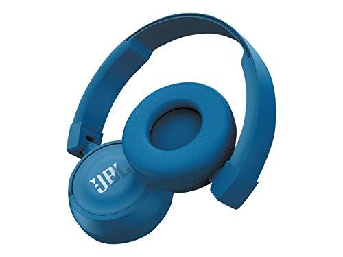 JBL Bluetooth Wireless T450BT on Ear Pure Bass - Blue
