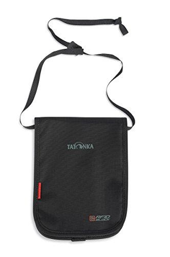 Tatonka Pochette Tour de Cou Hang Loose RFID B Noir Noir 20 x 14 x 2 cm, 0.001 Liter