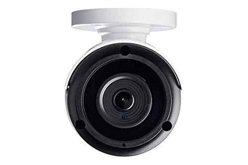 Lorex Weatherproof Indoor/Outdoor Add-On Surveillance Security Camera 1 x 4K Ultra HD IP Bullet Security Camera w/Color Night Vision & Listen in Audio