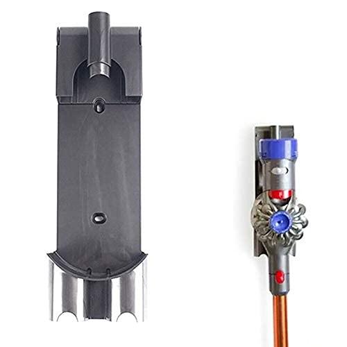 De Galen Partes de repuesto para aspiradora compatible con Dyson V7 V8 V10 accesorios montados en la pared, soporte de cargador sin cable (color como se muestra) accesorios de vacío