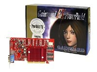 Gainward NVidia GeForce FX PowerPack! Pro 660 TV/DVI FX -5200 PCI, 64 MB, TV-Out, DVI Grafikkarte
