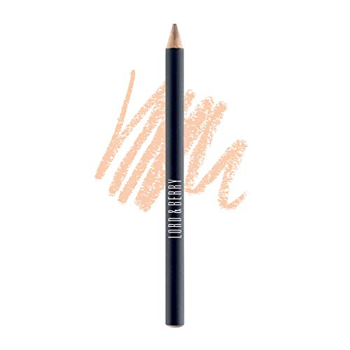 Lord & Berry SILK KAJAL Kohl Eyeliner Pencil, Long Lasting Eye Makeup With Smudgeable Semi-Matte Finish, Nude