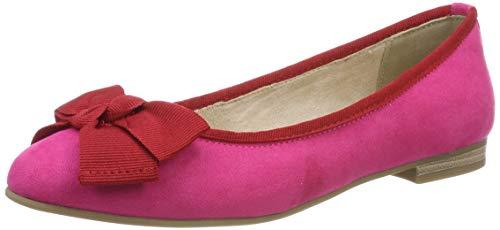 Marco Tozzi Damen 2-2-22105-32 Geschlossene Ballerinas, Pink (Pink Comb 514), 38 EU