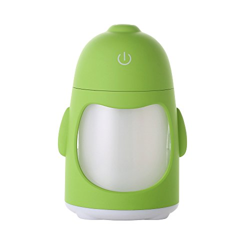 KITCHEN TOOLS Penguin Aromaterapia Máquina Mini Coche humidificador de ultrasonidos Camera USB cabecero Lámpara de umidificazione