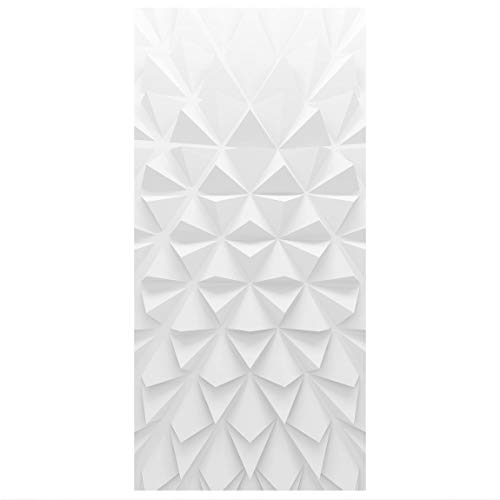 Bilderwelten Raumteiler Geometrisches Muster 3D Effekt 250x120cm mit transparenter Halterung
