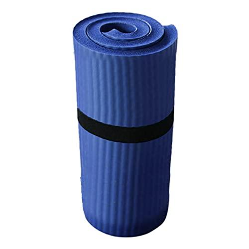 Selotrot Esterilla de yoga, esterilla de gimnasio, esterilla de yoga, pilates, gruesa, ejercicio, gimnasio, entrenamiento, antideslizante, 15 mm, tapete de fitness Pro