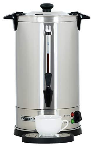 Casselin CPC60 cafetera eléctrica - calentadores de agua (Negro, Acero inoxidable, Acero inoxidable)