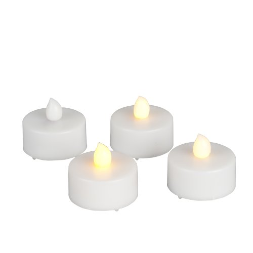 Gerson 35990 - Everlasting Glow Tealight LED 4 Pack with Timer