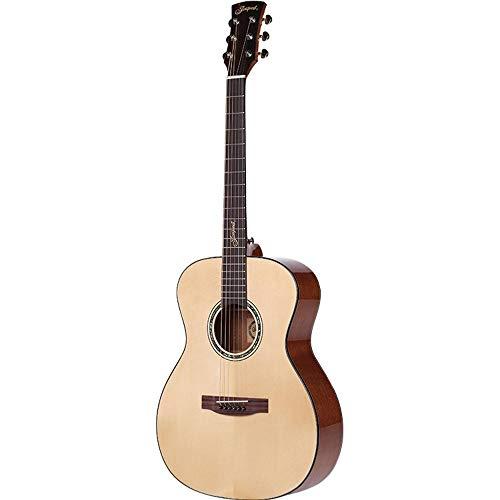 North King - Guitarra acústica para Principiantes (52 Pulgadas, Madera con Revestimiento de Abeto, para Guitarra Junior)