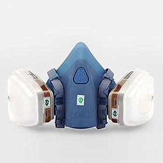 3M 7502 قناع جهاز التنفس صناعة الطلاء رذاذ الغبار قناع الغاز الكيميائي نصف قناع الوجه