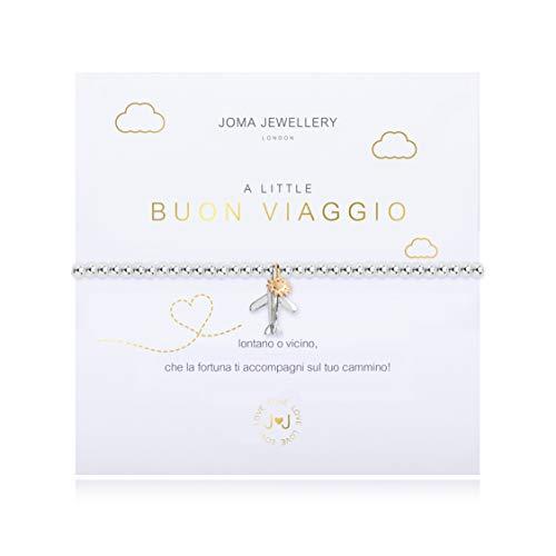 Joma Jewellery A Little BUON VIAGGIO Bracelet Italian