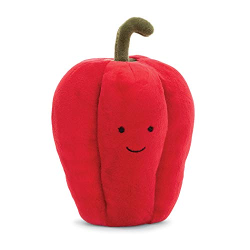 Jellycat Vivacious Vegetables Pepper Food Plush, 6 inches