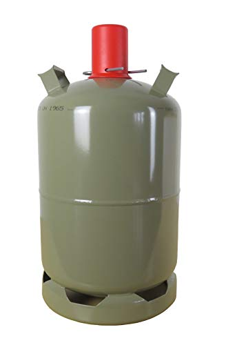 Campinggas Gasflasche 11 kg Stahlflasche Propangas
