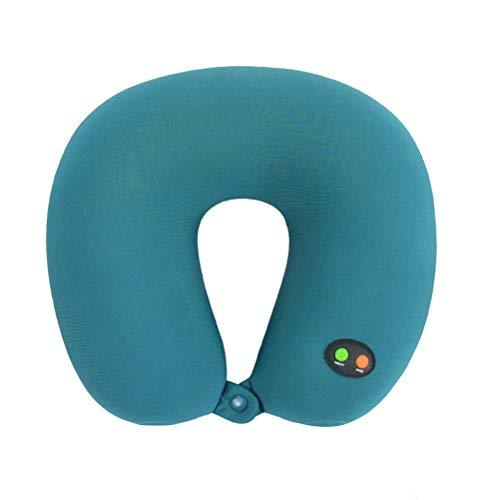 Healefty - Almohada de espuma para el cuello con tracción eléctrica en...