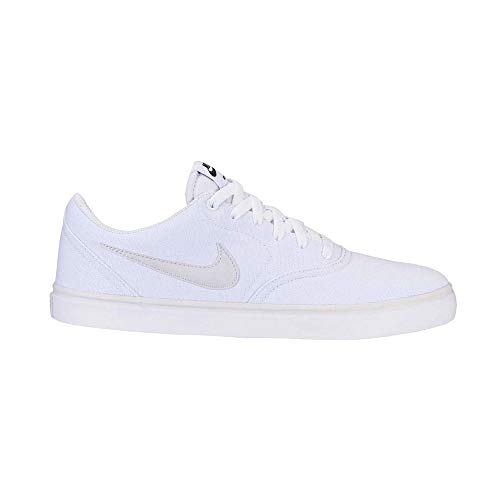 Nike SB Check Solar Cnvs, Zapatillas de Deporte Unisex Adulto, Multicolor (White/Vast Grey/White 101), 45.5 EU