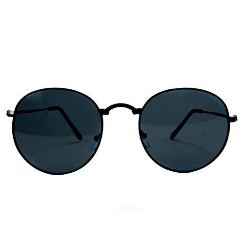 Óculos de sol Round Clássico Proteção UV400 Redondo Unissex Vazcon