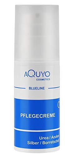 Blueline Creme bei Ekzem, Hautpilz, Psoriasis oder Neurodermitis | Körpercreme für trockene, unreine, entzündete Haut | Hautcreme zur Hautpflege bei Juckreiz und Hautirritationen (100ml Airless Spender)