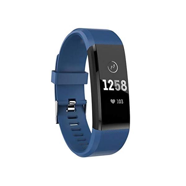 ATETION Pulsera de Actividad Inteligente, Impermeable Reloj Inteligente
