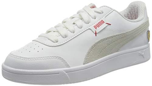 PUMA Ferrari Race Court Legend, Sneaker Unisex-Adulto, Bianco White White White, 42 EU