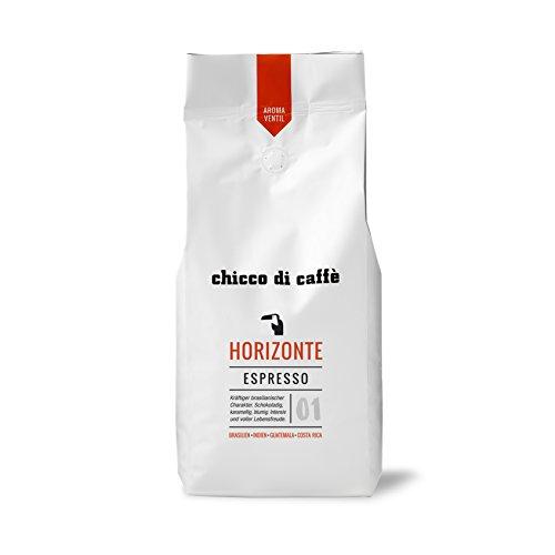 chicco di caffè | Espresso Horizonte | ganze Kaffeebohnen | 70% Arabica - 30% Robusta | schonend geröstet