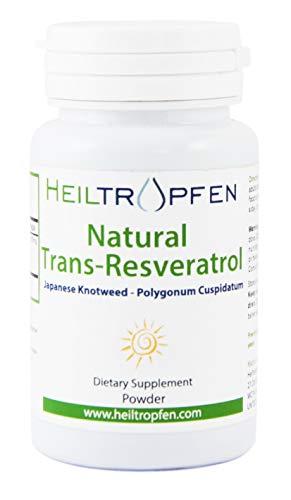 Resveratrol Pulver, 50g, Heiltropfen®