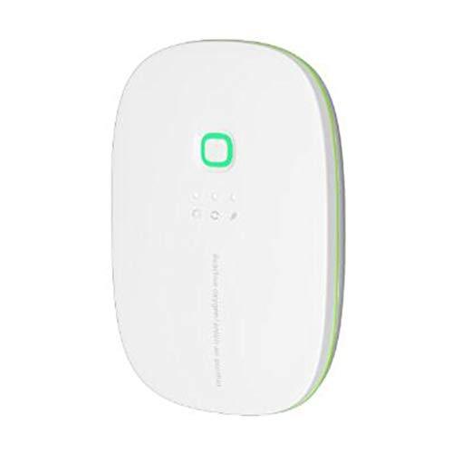 Mini esterilizador ozono purificador de aire portátil, 28 millones iones negativos + 120 mg purificación oxígeno activo, Utilizado para eliminar los olores domésticos, dormitorio/salón/mascota
