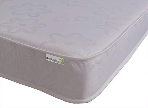 Starlight Beds - Single Mattress. Basic Sprung Single Mattress. Flat Top Dual Sided Single Mattresses 3ft x 6ft3